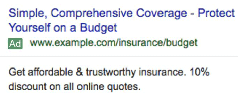 تبلیغ متنی گوگل گسترش یافته