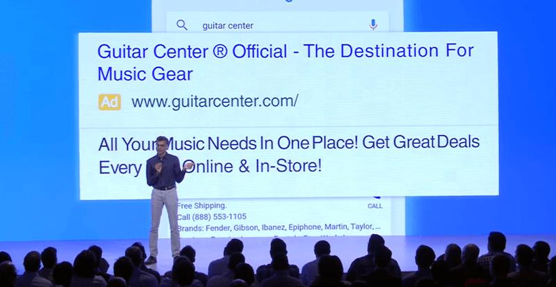 آگهی متنی در گوگل