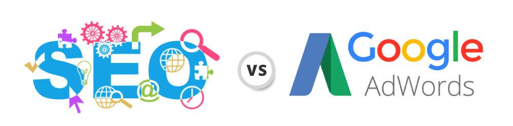 seo vs ad - مقایسه سئو و تبلیغات در گوگل ادوردز