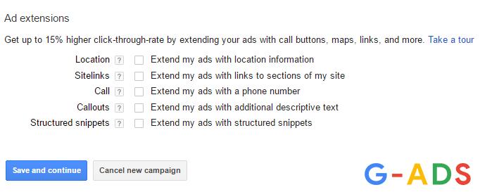 ad extensions adwords - چگونه در گوگل تبلیغ کنیم: راهنمای سریع برای تبلیغات در گوگل