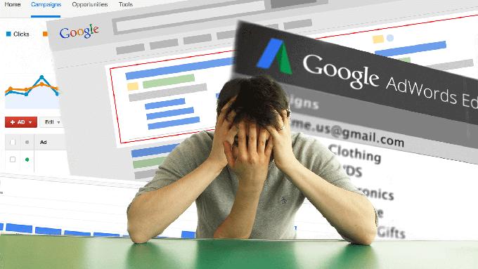 عدم موفقیت تبلیغات گوگل