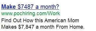 نمونه تبلیغات گوگل