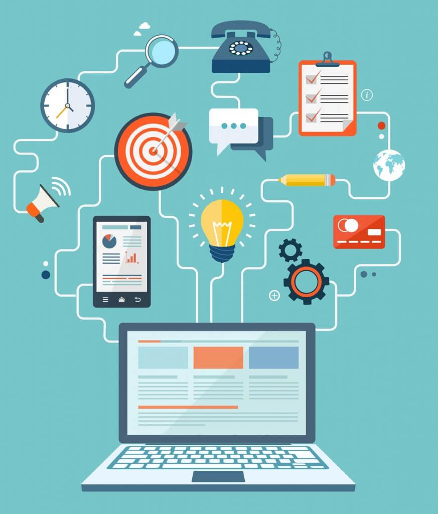انتشار محتوا در بازاریابی محتوا