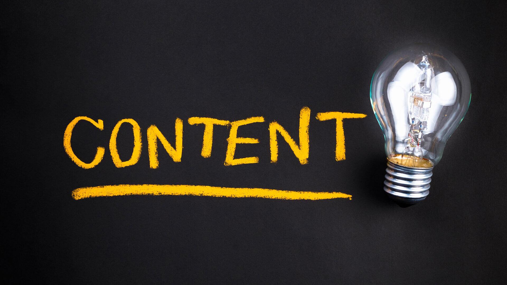 ایده محتوا در بازاریابی محتوا
