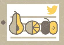 میوه توییتر در شبکه های اجتماعی