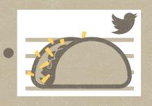 تاکو توییتر در شبکه های اجتماعی