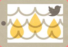 چیرلی توییتر در شبکه های اجتماعی