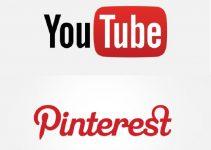 یوتیوب و پینترست