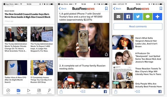 استفاده از تصاویر در محتوای موبایلی
