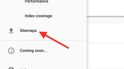 افزودن URL سایت مپ در گوگل سرچ کنسول