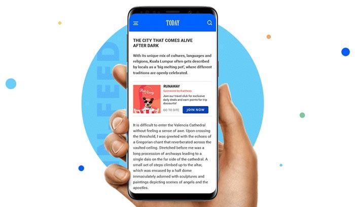 تبلیغات داخل متنی موبایلی