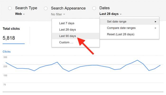 نسخه قدیمی Search Analytics