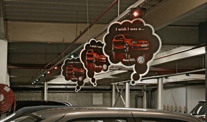 بازاریابی چریکی فولکس واگن