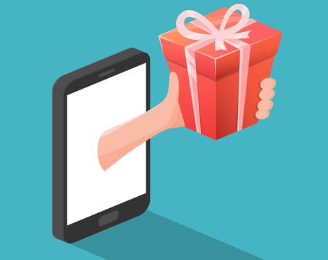 ارائه هدیه به مشتریان برای افزایش فروش اینترنتی