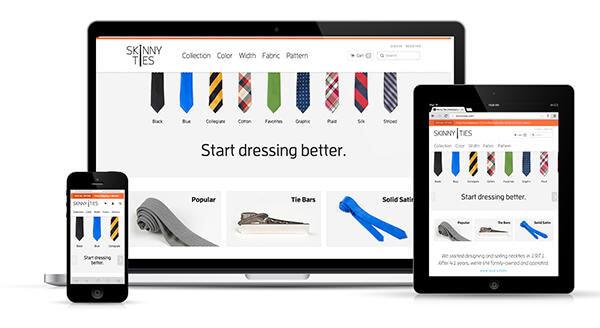 بهبود فروش با بهتر شدن منوی سایت