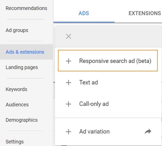 تبلیغات رسپانسیو گوگل