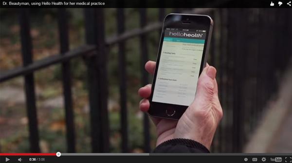 ارائه ویدئو در سایت خدمات درمانی
