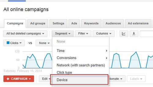 عملکرد تبلیغات در دستگاه موبایل