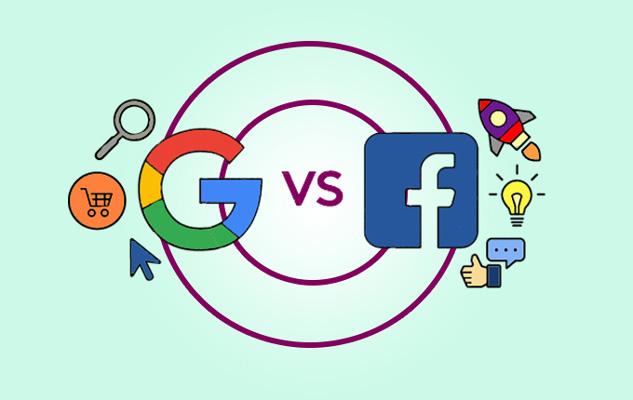 مقایسه تبلیغات در فیسبوک و گوگل