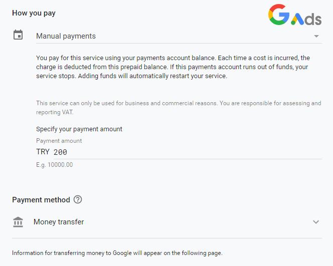 گوگل ترانسفر مانی