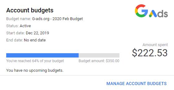 نحوه پرداخت مانثلی پیمنت گوگل ادز