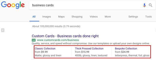 نمایش تبلیغات با افزونه قیمت در نتایج گوگل