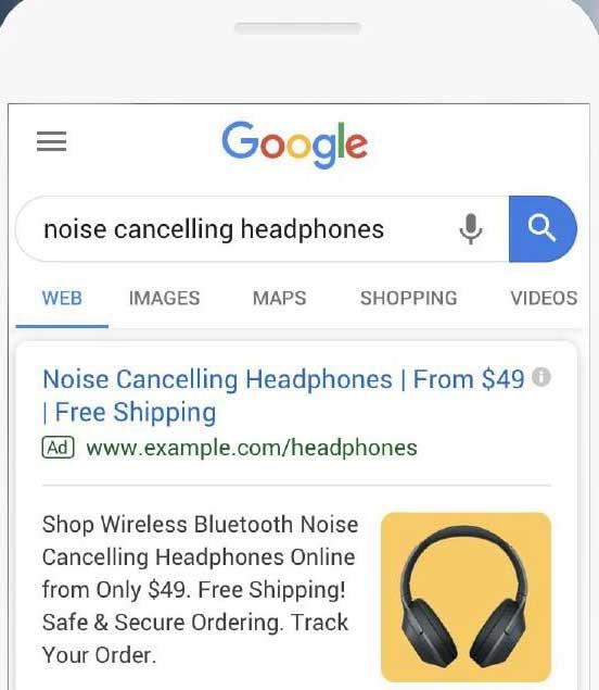 افزونه تصویر گوگل ادز