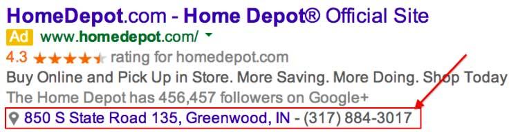 افزونه موقعیت مکانی تبلیغات گوگل ادز