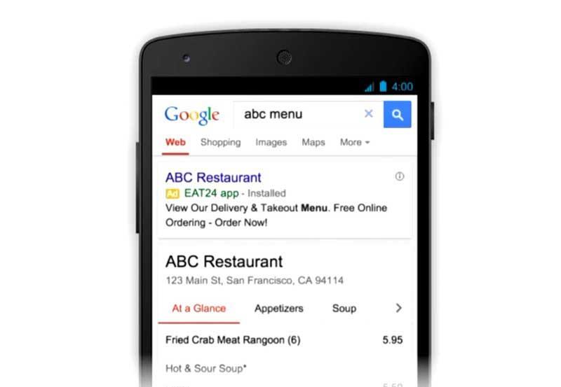 کمپین اپلیکیشن گوگل ادز