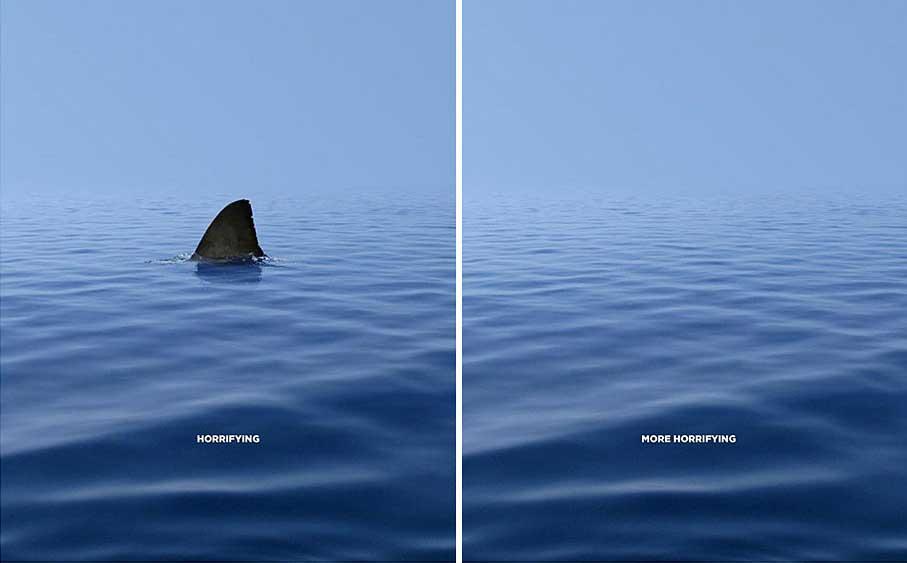 انواع تبلیغات محیطی خلاقانه - ترسناک در مقابل ترسناک تر
