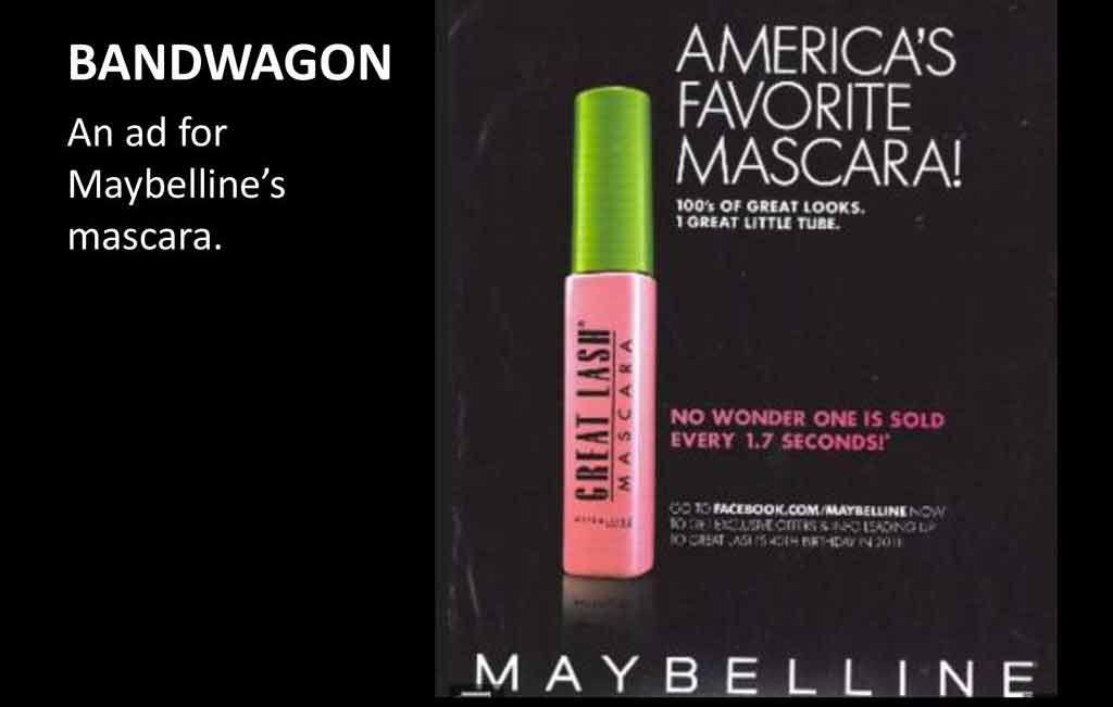تبلیغات شرکت Maybelline - یکی از انواع مختلف تبلیغات 2021