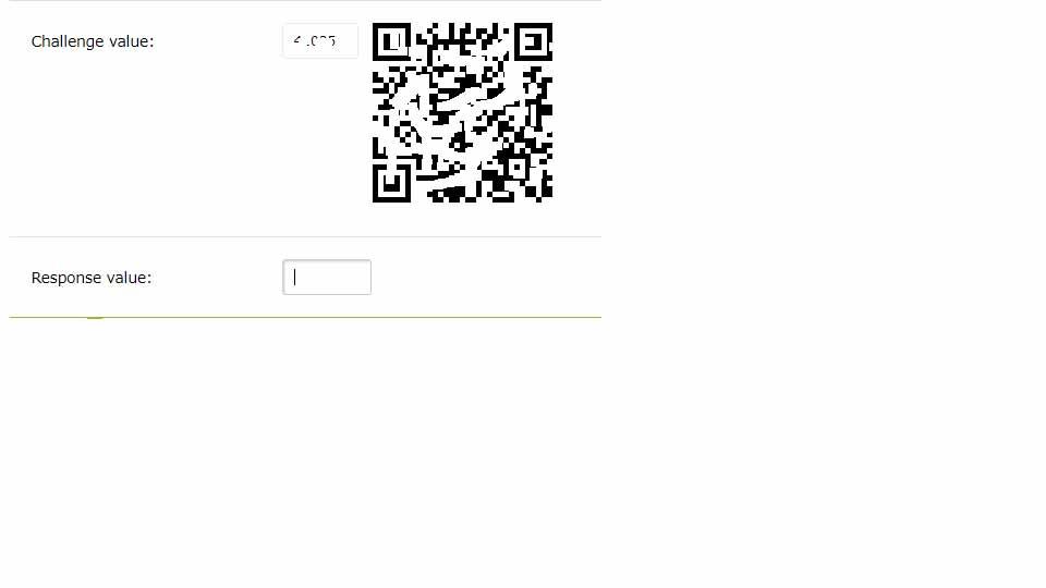 اسکن کد برای احراز هویت وب مانی