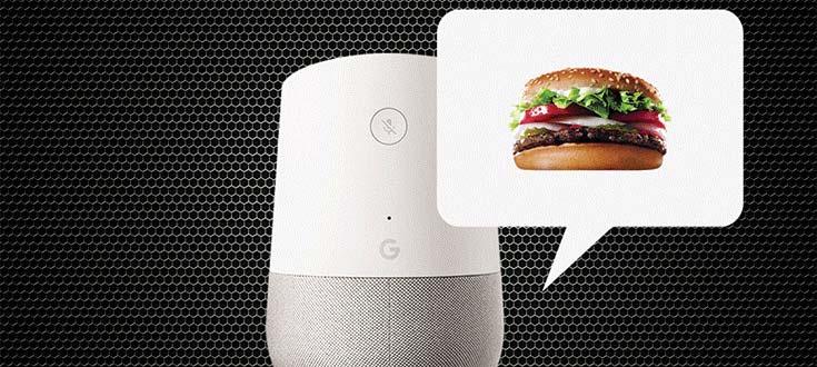 استفاده کینگ برگر از ویس مارکتینگ یا بازاریابی شنوایی
