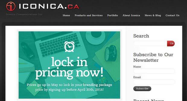 هشدار برای منقضی شدن اطلاعات در وب سایت - مثالی از استراتژی فومو iconica