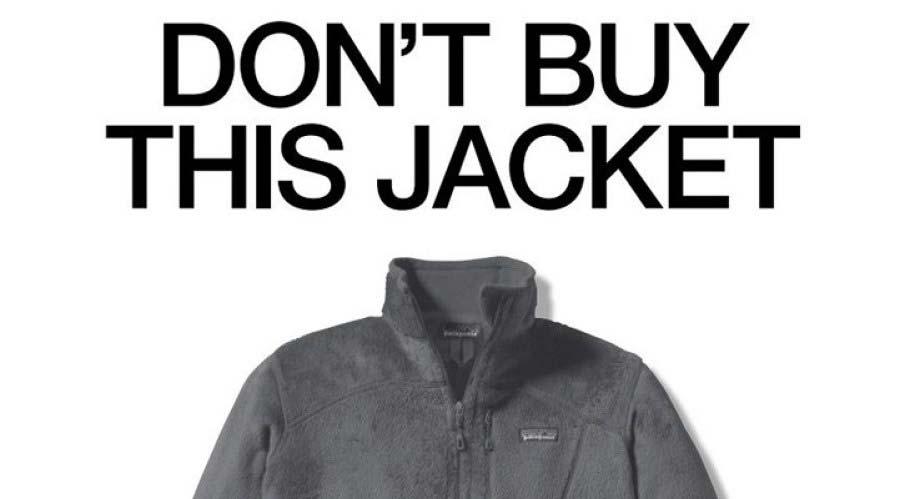 کمپین تبلیغاتی معکوس پاتاگونیا - این را نخر don't buy this