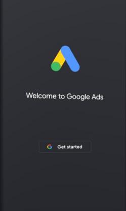 وارد شدن به صفحه اپلیکیشن گوگل ادز