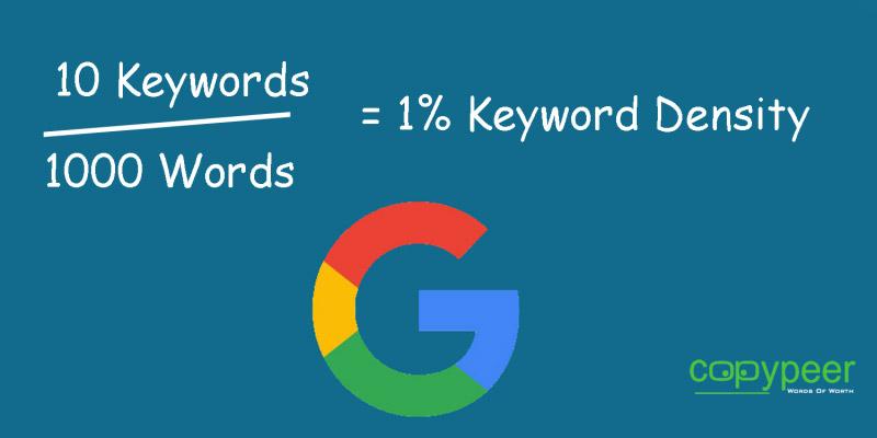 چگونه چگالی کلمات کلیدی را محاسبه کنیم؟