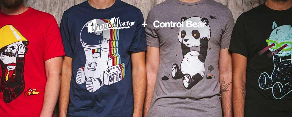 تی شرت های وب سایت Threadless - شرکت هایی که بیشترین تاثیر را از بازاریابی دهان به دهان کسب کرده اند