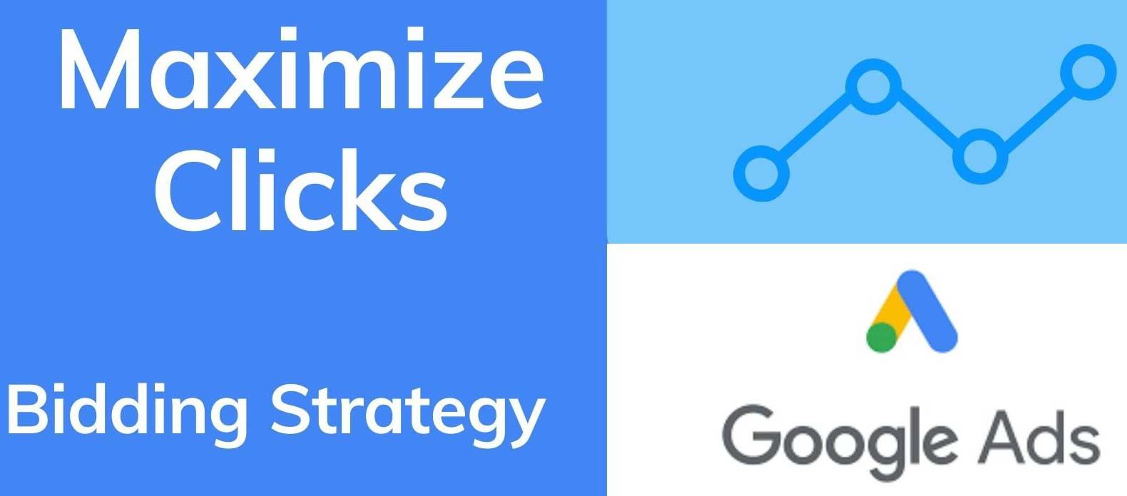 استراتژی هزینه گذاری گوگل ادز بر اساس حداکثر تعداد کلیک