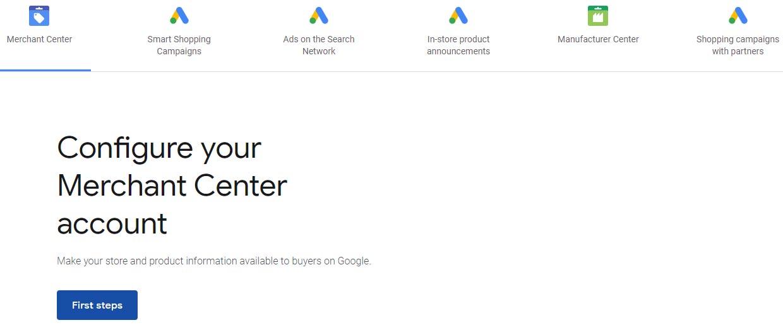 چگونه در گوگل تبلیغات شاپینگ ایجاد کنیم؟ نحوه ساخت اکانت google merchant center