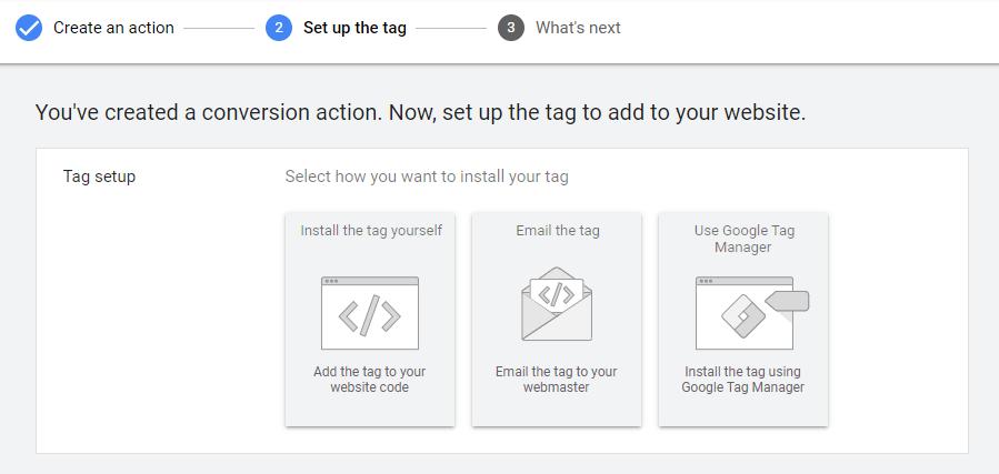 نحوه قرار دادن تگ گوگل ادز کانورژن در سایت