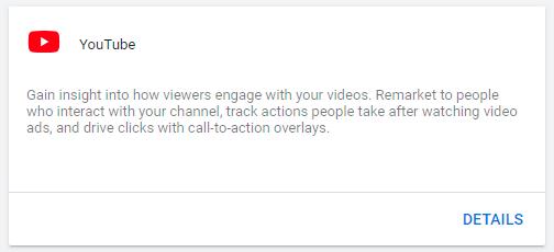 اتصال کانال یوتیوب به اکانت گوگل ادز