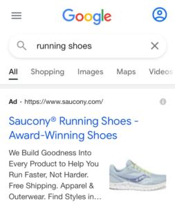نمونه افزونه تصویر در گوگل ادز