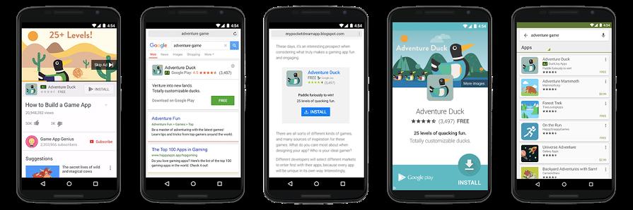 کمپین اپ گوگل ادز