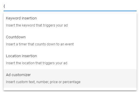 سفارشی سازی تبلیغات گوگل